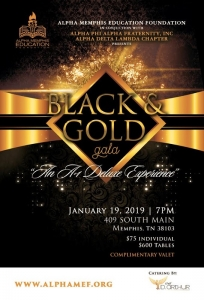 2019 Black and Gold Gala