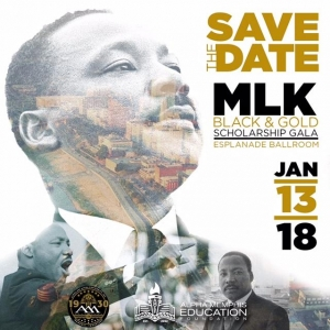 Dr. Martin Luther King Black and Gold Scholarship Gala 2018